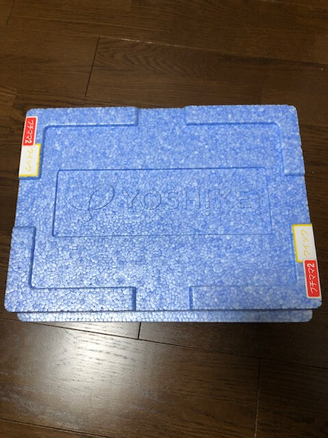 ヨシケイのクーラーボックス